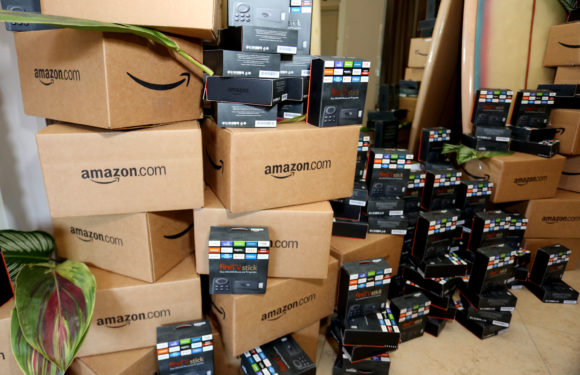 Record quarterly profit delivered by Amazon
