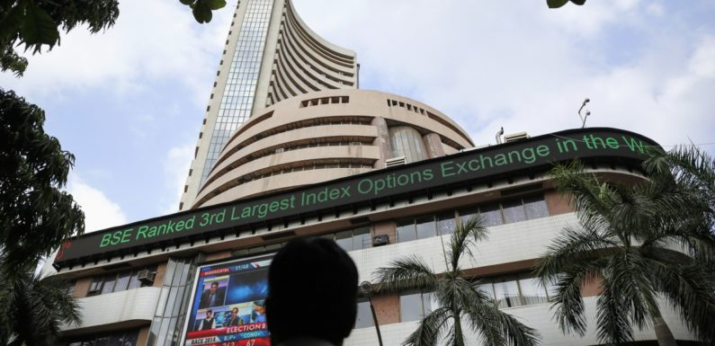 Sensex builds on gains, climbs 143 points