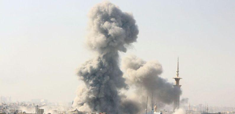 "Syria War: Eastern Ghouta bombing ""flagrant war crimes"""