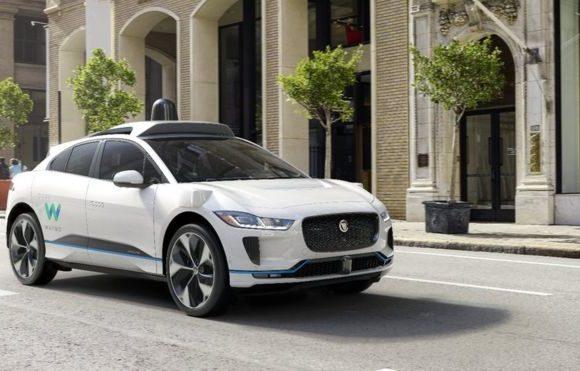 Jaguar's self-driving car revealed in New York