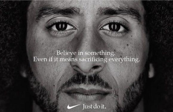 Nike's new face : Coling Kaepernick