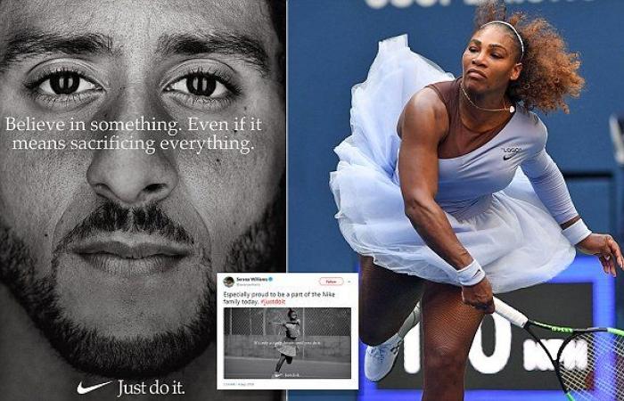 Kaepernick Nike Serena
