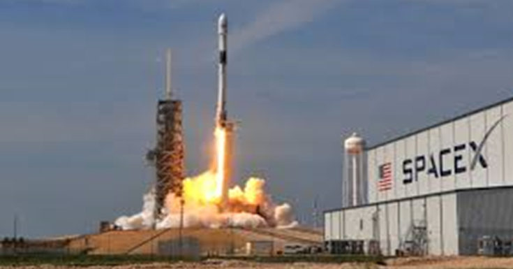 SpaceX Launches Satellite-Carrying Falcon 9 for Musk's Starlink Internet Service